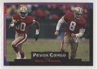 Jerry Rice, Steve Young [NoneEXtoNM]