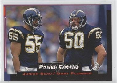 1993 Pro Set Power - Power Combos #3 - Junior Seau, Gary Plummer