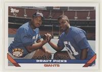 Draft Picks (Michael Strahan, Marcus Buckley)