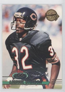 1993 Topps Stadium Club - Super Teams Redeemed - Super Bowl XXVIII #367 - Lemuel Stinson