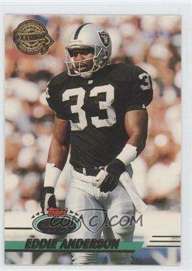 1993 Topps Stadium Club - Super Teams Redeemed - Super Bowl XXVIII #424 - Eddie Anderson
