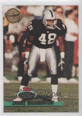 1993 Topps Stadium Club - Super Teams Redeemed - Super Bowl XXVIII #486 - Lionel Washington