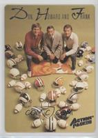 Don Meredith, Howard Cosell, Frank Gifford