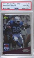 Marshall Faulk [PSA 8 NM‑MT] #/2,600