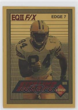 1994 Collector's Edge - Edge F/X - Red #EDGE 7 - Sterling Sharpe