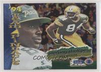 Sterling Sharpe, Tim Brown
