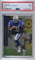 Marshall Faulk [PSA 7 NM]