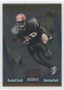 1994 Score - [Base] - Gold Zone #277 - Marshall Faulk