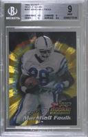 Marshall Faulk [BGS 9 MINT]