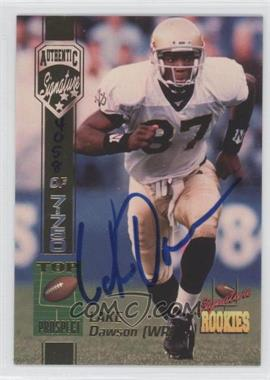 1994 Signature Rookies - [Base] - Authentic Signature #15 - Lake Dawson /7750