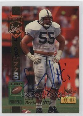 1994 Signature Rookies - [Base] - Authentic Signature #6 - Lou Benfatti /7750