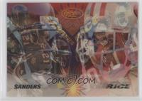 Deion Sanders, Jerry Rice /4500
