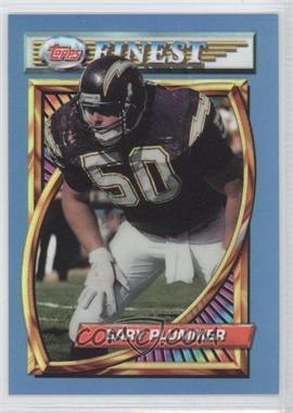1994 Topps Finest - [Base] - Refractor #121 - Gary Plummer
