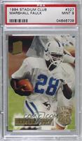 Marshall Faulk [PSA 9 MINT]