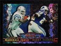 Marshall Faulk, Barry Sanders [Gem Mint]
