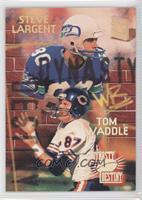 Steve Largent, Tom Waddle