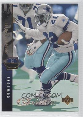 1994 Upper Deck - [Base] - Electric Silver #157.1 - Emmitt Smith (Career Totals: 1900 Yds/12 Tds)