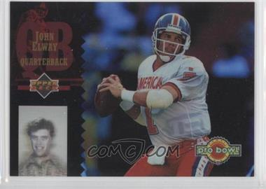 1994 Upper Deck - Pro Bowl Holoview #PB 12 - John Elway