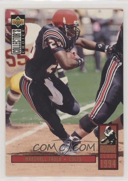 1994 Upper Deck Collectors Choice Base 14 Marshall Faulk