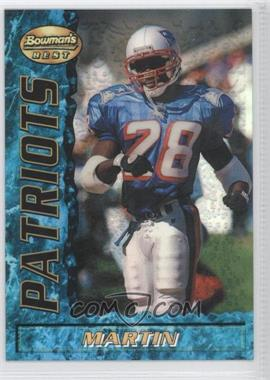 1995 Bowman's Best - [Base] - Refractor #74 - Curtis Martin
