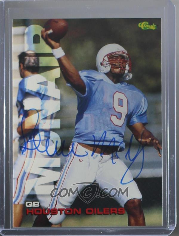 huge selection of 04277 3807a 1995 Classic Autographs - [Base] #SP6 - Steve McNair
