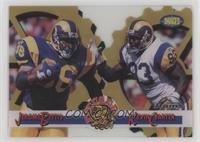 Jerome Bettis, Kevin Carter