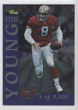 1995 Classic Pro Line - 5000 #5 - Steve Young /5000