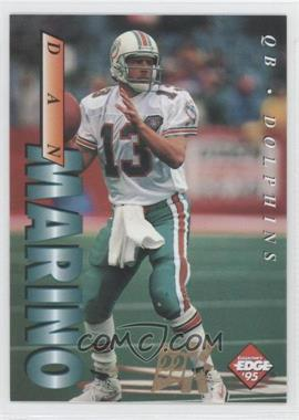 1995 Collector's Edge - [Base] - 22K Gold Non-Numbered #118 - Dan Marino
