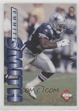 1995 Collector's Edge - [Base] - 22K Gold Non-Numbered #56 - Emmitt Smith