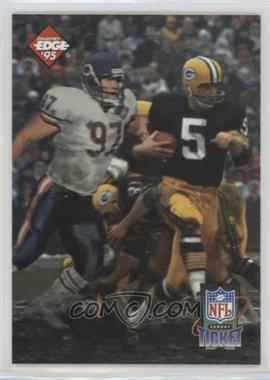 1995 Collector's Edge - Sunday Ticket Time Warp - Prism Back #1 - Paul Hornung, Chris Zorich /2500