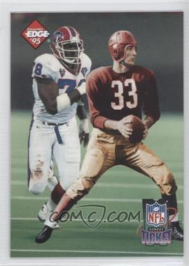 1995 Collector's Edge - Sunday Ticket Time Warp - Prism Back #4 - Bruce Smith, Sammy Baugh /2500