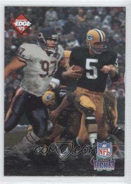 1995 Collector's Edge - Sunday Ticket Time Warp #1 - Chris Zorich, Paul Hornung /10000