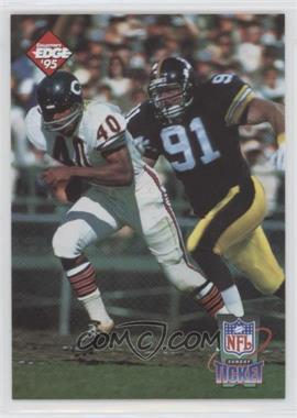 1995 Collector's Edge - Sunday Ticket Time Warp #2 - Gale Sayers, Kevin Greene /10000