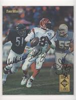 Dick Butkus, Jeff Blake, Junior Seau