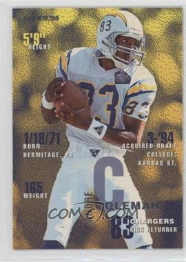 1995 Fleer - [Base] #327 - Andre Coleman