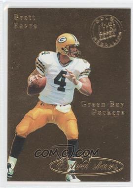 1995 Fleer Ultra - [Base] - Gold Medallion #490 - Brett Favre