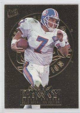 1995 Fleer Ultra - [Base] - Gold Medallion #91 - John Elway