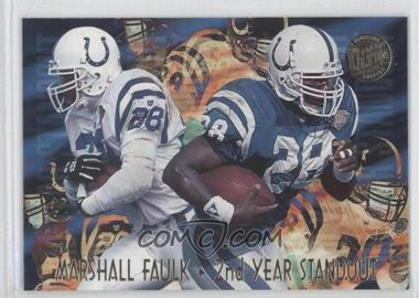 1995 Fleer Ultra - Second Year Standouts - Gold Medallion #5 - Marshall Faulk