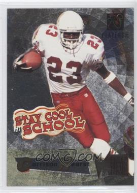 1995 NFL Players Party (Stay Cool in School) - [Base] #GAHE - Garrison Hearst (Fleer Metal)