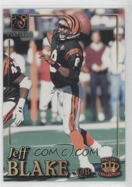 1995 NFL Players Party (Stay Cool in School) - [Base] #JEBL - Jeff Blake (Pacific)
