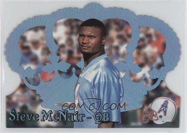 1995 Pacific Crown Royale - [Base] - Blue Holofoil #126 - Steve McNair