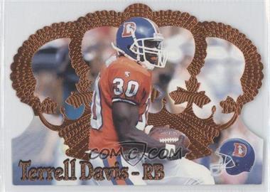 1995 Pacific Crown Royale - [Base] - Copper #136 - Terrell Davis