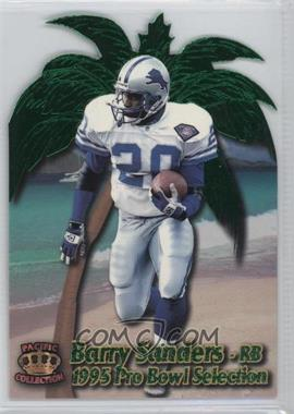 1995 Pacific Crown Royale - Pro Bowl Die-Cuts #PB-15 - Barry Sanders