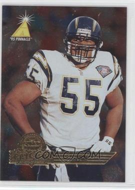 1995 Pinnacle Super Bowl Card Show - [Base] #14 - Junior Seau