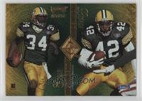 Edgar Bennett, LeShon Johnson, Robert Brooks, Mark Ingram