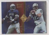 Steve McNair, Kerry Collins, Todd Collins, Chad May