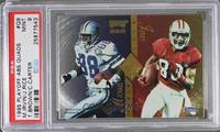 Michael Irvin, Jerry Rice, Tim Brown, Cris Carter [PSA 9 MINT]