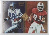 Michael Irvin, Jerry Rice, Tim Brown, Cris Carter