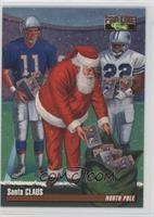 Santa Claus, Drew Bledsoe, Emmitt Smith (Classic Pro Line)