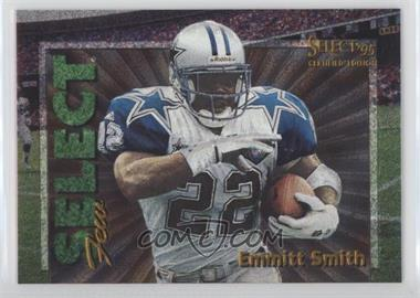 1995 Select Certified Edition - Select Few - Dufex #2 - Emmitt Smith /2250